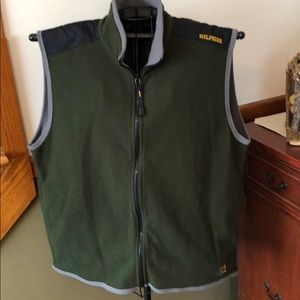 Tommy Hilfiger Fleece Zip-Up Vest XL